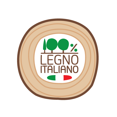 Marchio 100% legno italiano - Artena Legnami