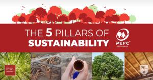 5 pillar of sustainability - pefc